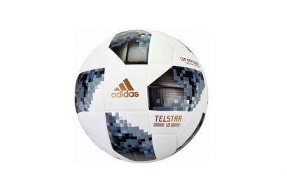 adidas Telstar 18 Replique Soccer Ball, Size 5 (1pc)