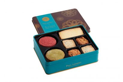 PAUL LAFAYET French Handcrafted Cookies Gift Box (28 pieces per box)