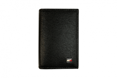Tommy Hilfiger Global Guessted Leather Name card holder (1pc)