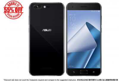 [11.11] ASUS ZenFone 4 Pro (6GB/128GB) (Midnight Black) (1 pc)