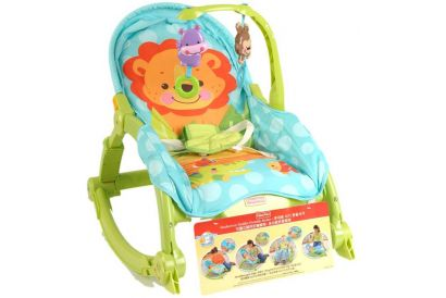 Fisher-Price - Classic Newborn to Toddler Portable Rocker (1pc)
