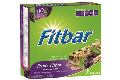 Fitbar Fruits Fitbar (25g-5pcs) (2packs)
