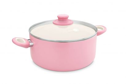 GreenPan -  Focus Pink Casserole 24cm / 4.9L (1pc)