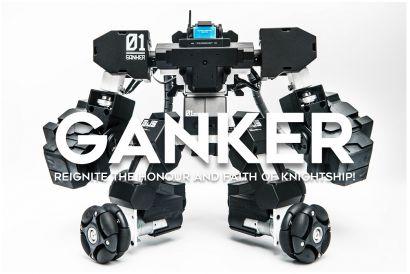 GANKER Ultimate Combat Warriors (1pc)