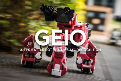 GEIO World's First A.I. Visual Recognition FPS Battle Bot (1pc)