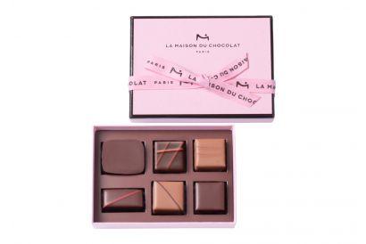 La Maison du Chocolat - Gesture Gift Box (Limited Pink Edition) (6 pcs)