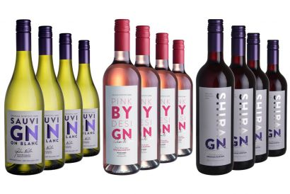 Graham Norton Own Trio Set (includes 4x 75cl bottles each of Sauvignon Blanc, Rosé & Shiraz wine) (1 set)