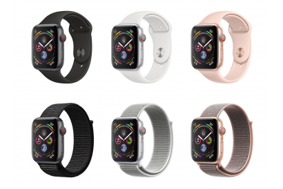 Apple Watch Series 4 (GPS+Cellular) 40mm Aluminium Case with Sport Band / Sport Loop (1pc)
