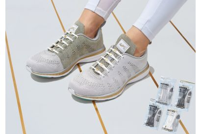 HICKIES® shoe lacing system (Metallic) - Upgrade your shoes !