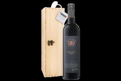 Enoteca - Grant Burge Hillcot Merlot  Barossa 2016 750ml (1 bottle with wooden gift box)