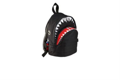HKTDC Design Gallery - Morn Creations BLACK Shark MEDIUM Backpack (1pc)