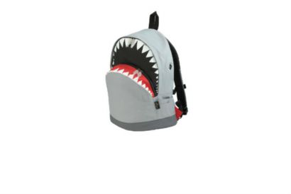 HKTDC Design Gallery - Morn Creations GREY Shark LARGE Backpack (1pc)