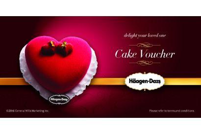 Häagen-Dazs™ Ice-cream Cake Voucher (Mini Size) (1pc)