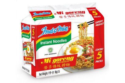 Indomie Mi Goreng 5's (85g-5pcs) (1 pack)