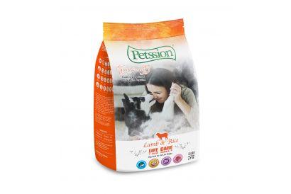 PETSSION LIFE CARE - Lamb & Rice For Dog 5 LBS (1 bag)