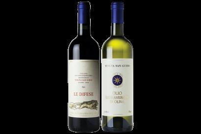 Tenuta San Guido Le Difese & Sassicaia Extra Virgin Olive Oil Set (1 set)