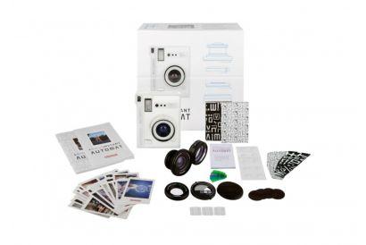 Lomo Instant Automat Camera and Lenses Set (White) (1 Set)