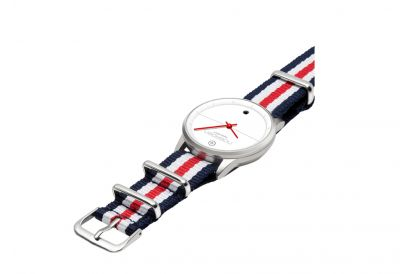 Noerden LIFE NATO Hybrid Smart Watch (French Red) (1 pc)