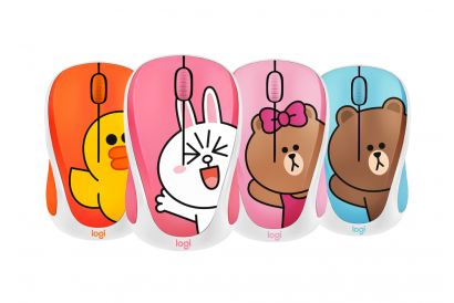 [Christmas] Logitech Wireless Mouse M235 - Line Friends Collection (1pc)