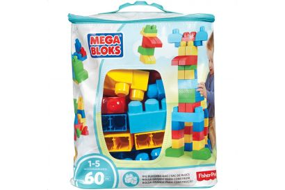 Fisher-Price - Mega Bloks BUILDING BAG (60 pcs) (1 bag)