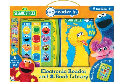 ME Reader - JR Electronic Reader and 8 Book Library: Sesame Street (1 pc)