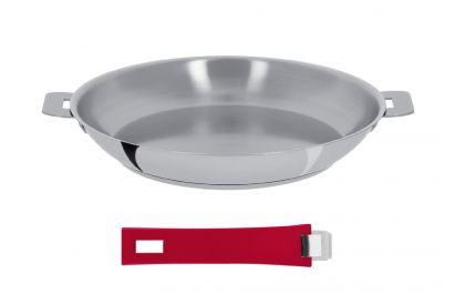 Cristel 28cm Frying Pan with Detachable Handles (Model No: P28Q) (1 pc)