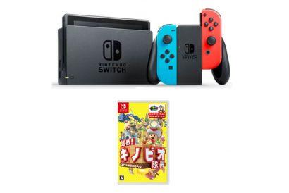 Nintendo Switch™  Bundle Set (Red/Blue) (1pc) (Legitimately-Imported Goods)