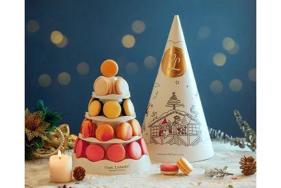 [Christmas] PAUL LAFAYET Christmas Macaron Tower with 29 pieces (1 set)