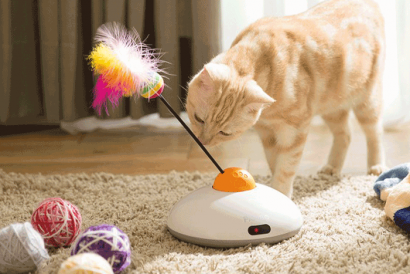 Pawbo Catch Interactive Cat Teaser Party Set (Remotely Control need used in conjunction with Pawbo+) (1pc)