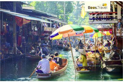 Thai Airways - 1 Round Trip Air Ticket (Hong Kong - Bangkok)  (with Free Roaming Data Pass*)