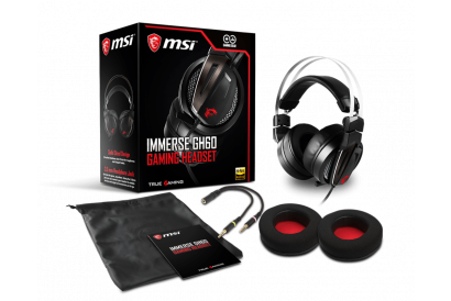 MSI IMMERSE GH60 Gaming Headset (1pc)