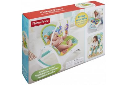 Fisher-Price - Rainforest Friends Newborn-to-Toddler Portable Rocker (1 pc)