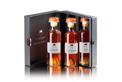 Cognac Deau - Box Set of 3 Selections (XO, Black, Louis Memory) (1 set)