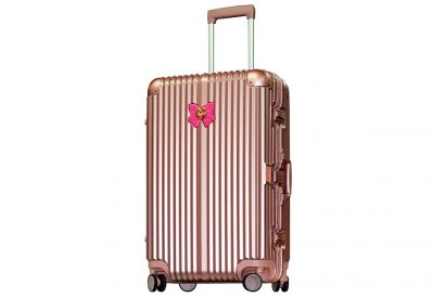 """Sailor Moon Crystal - Frame Case 4 Wheels Luggage SMC4010T 26"""" (Rose Gold) (1pc) (FREE luggage tag)"""