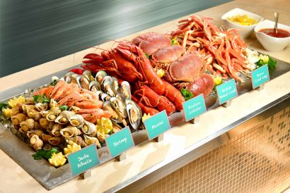 Café Allegro of Regal Kowloon Hotel - Lobster and Seafood Dinner Buffet  (Friday to Sunday, Public Holiday and Eve) (1 person)