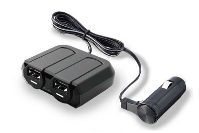 Japanese SEIKO Square Charger EM-147 (2x Sockets + 2x USB) (1pc)