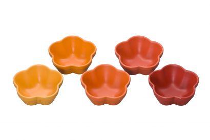 Le Creuset Set of 5 Mini Flower Bowls (1set)