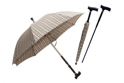 Silver Solutions Umbrella & Cane (1pc)