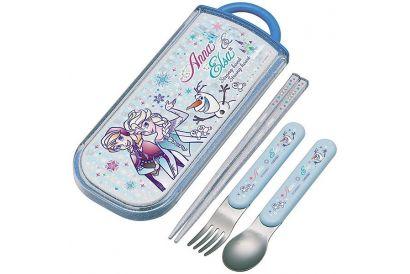 Skater – Frozen Trio Sliding Cutlery Set (chopsticks, spoon, fork) (1pc)