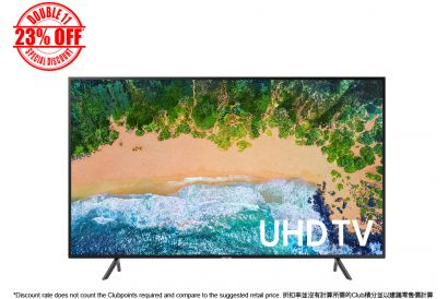 [11.11] Samsung 49NU7100 4K UHD Smart TV (1 pc)