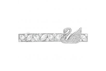 Swarovski Iconic Swan Silver Hair Clip Stone (1 pc)