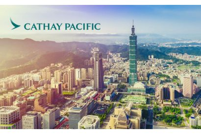 Cathay Pacific - 1 Round Trip Air Ticket (Hong Kong-Taipei)