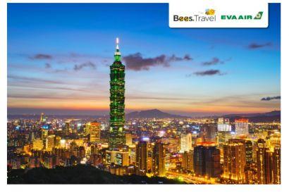 EVA Air  - 1 Round Trip Air Ticket (Hong Kong - Taipei)