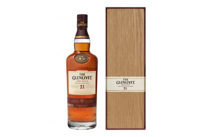 The Glenlivet 21 Year Old Whisky With Wooden Box (1 bottle)