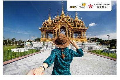 Hong Kong Airlines  - 1 Round Trip Air Ticket (Hong Kong - Bangkok)