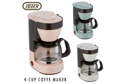 Toffy 4 Cups Coffee Maker (1 pc)