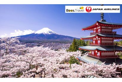 Japan Airlines  - 1 Round Trip Air Ticket (Hong Kong – Tokyo) (with Free Roaming Data Pass*)