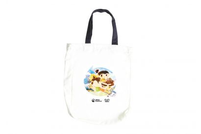 """GC Goo Bi Family"" x SPCA Love Animals Tote Bag (1pc)"