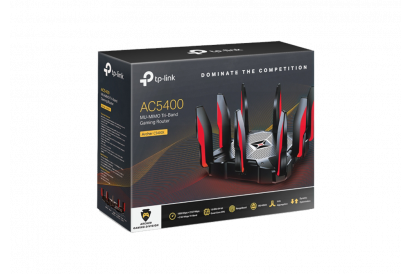 TP-Link Archer C5400X AC5400 Tri-band MU-MIMO Gaming Router (1pc)