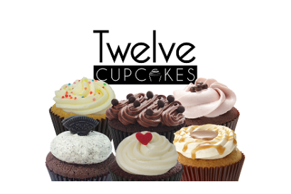 Twelve Cupcakes - 6 pieces of regular flavor cupcakes in box set (1 box)